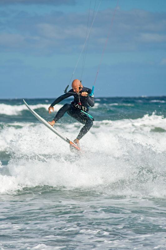 Cedric Vandenschrik Kiteboarding Sardinia 2020