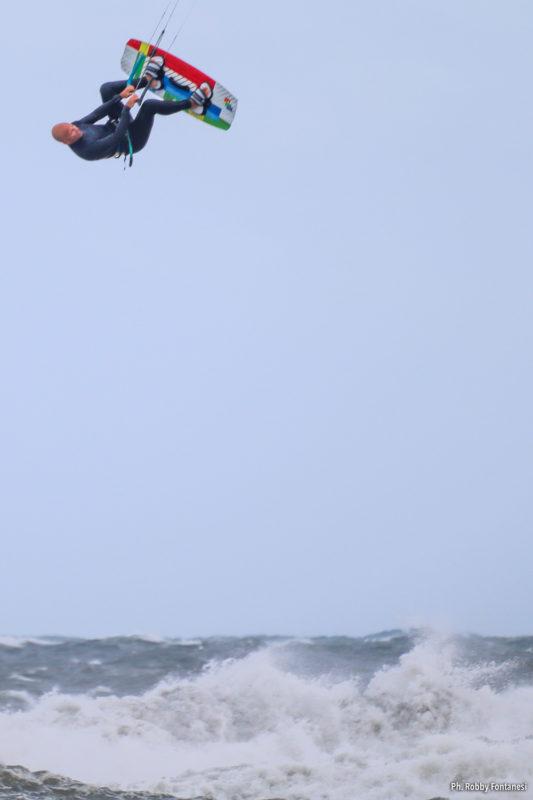 Cedric Vandenschrik Kiteboarding Storm Sardinia 2020