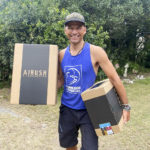 Ced Vandenschrik with Airush boxes