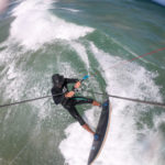Ced Vandenschrik Kiteboarding in the Eastern Cape South Africa